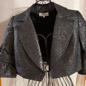 Brocade Crop Jacket